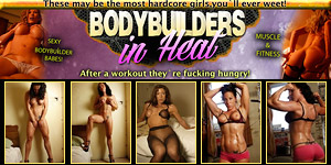 Bodybuilders in Heat - Muscle and Fitness Babes fucking hungry after Workout
