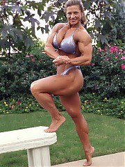Sonya McFarland good development and definition in the legs
