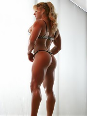 Muscular babes, fitness competitors, and sports cuties.