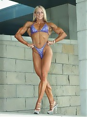 Mindy OBrien the most leanly defined fitness woman